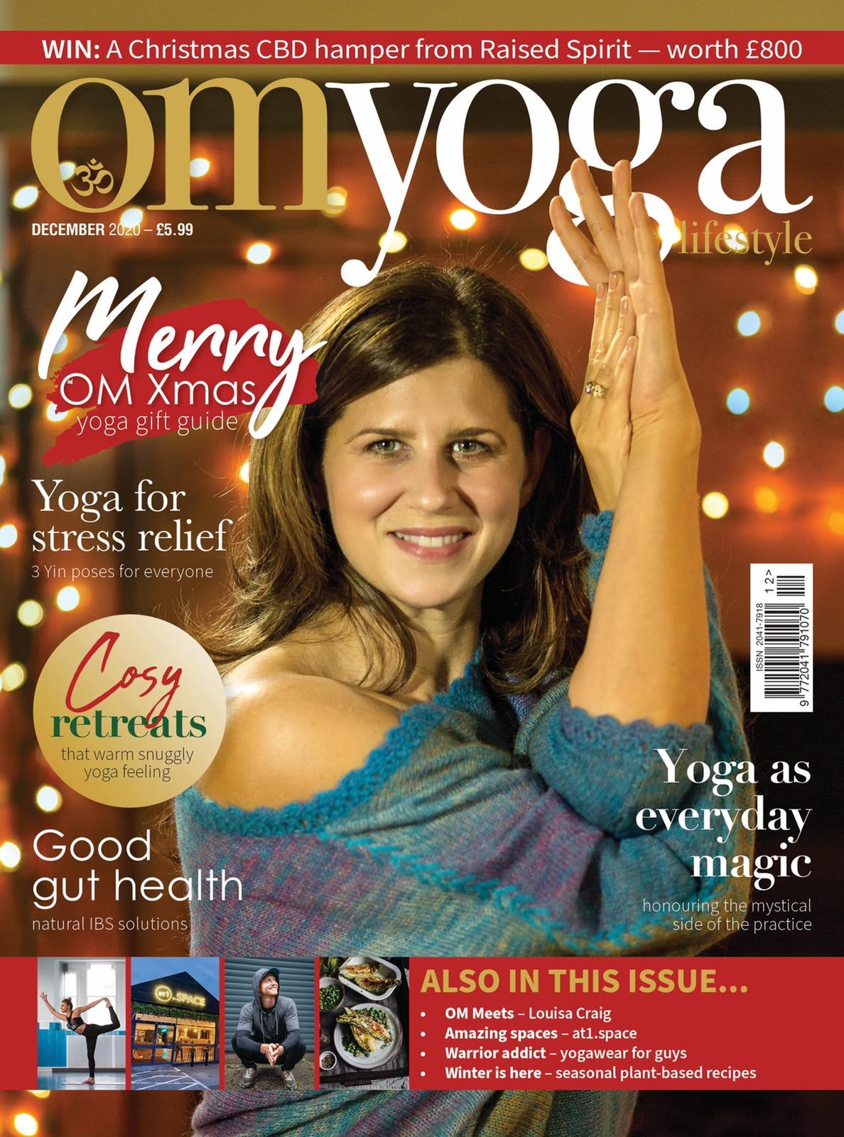 Om Yoga's holiday issue